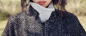李沇熹變身秋季女神拍攝畫報