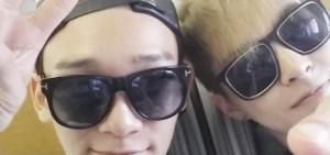 感受到EXO xiumin與chen思念鹿晗的哀切心情了嗎?