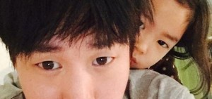 Tablo-Haru親密鯽魚餅父女認證 「媽媽去公司啦!」