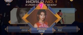 《M!Countdown》IU奪冠 累積五座獎盃