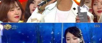 《人氣歌謠》IU演繹回歸舞台 WINNER最終奪冠