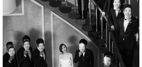 5個最華麗的K-POP偶像夫婦婚禮照片