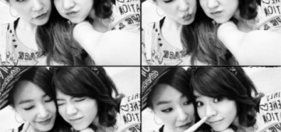Tiffany和Sunny,活潑可愛4連拍