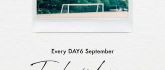 DAY6新歌預告發布 9月6日公開音源