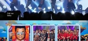 EXO《音樂中心》再奪一位