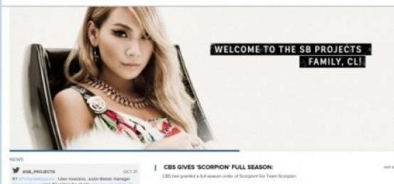 "CL,正式進軍美國..scooterbraun公司""WELCOME,CL"