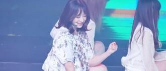 """[視頻]Hani對於Hyerin能成功唱到""""Ah Yeah"""" 的高音部份感到開心"""