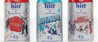 SM娛樂再放大招! 攜韓啤酒品牌推少時SHINee等啤酒