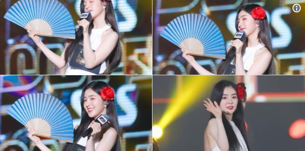 Red Velvet Irene演唱會露美背大跳性感舞! 服裝讓粉絲超滿意?