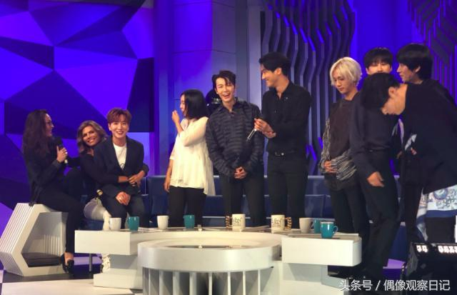 Super Junior成員被性騷擾? 墨西哥錄製節目時遭女主持人強吻!