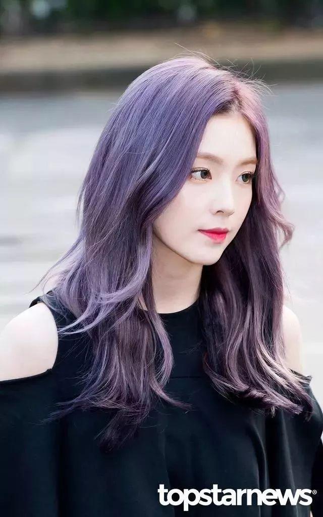 盤點那些染紫發超好看的愛豆,Irene、多賢上榜,裴珍映也加入了紫發的行列!