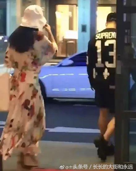 太陽&孝琳甜蜜約會被偶遇,過馬路視頻太甜蜜了