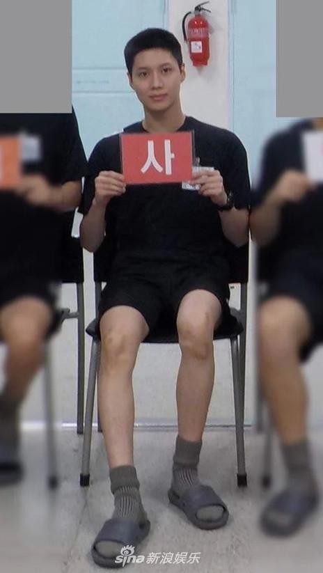 組圖:SHINee李泰民訓練所照片公布 寸頭少年氣十足