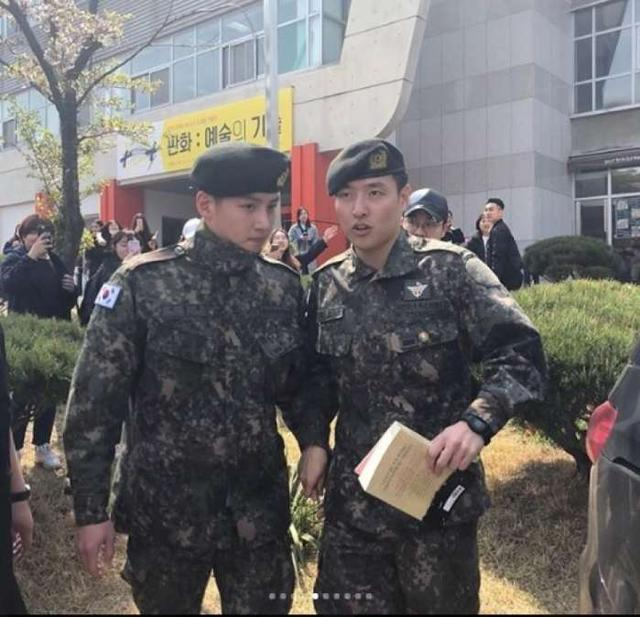 池昌旭、周元、姜河那、任時完同框了! 出席韓國顯忠日活動