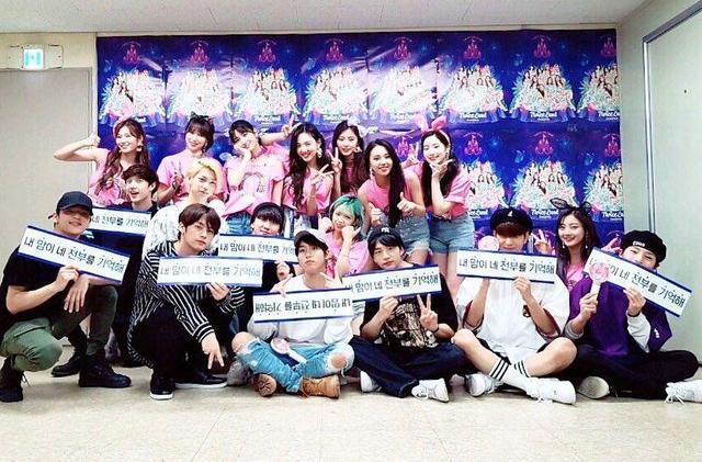 JYP家族支持TWICE演唱會! SJ、Red Velvet、EXID等成員也在場?