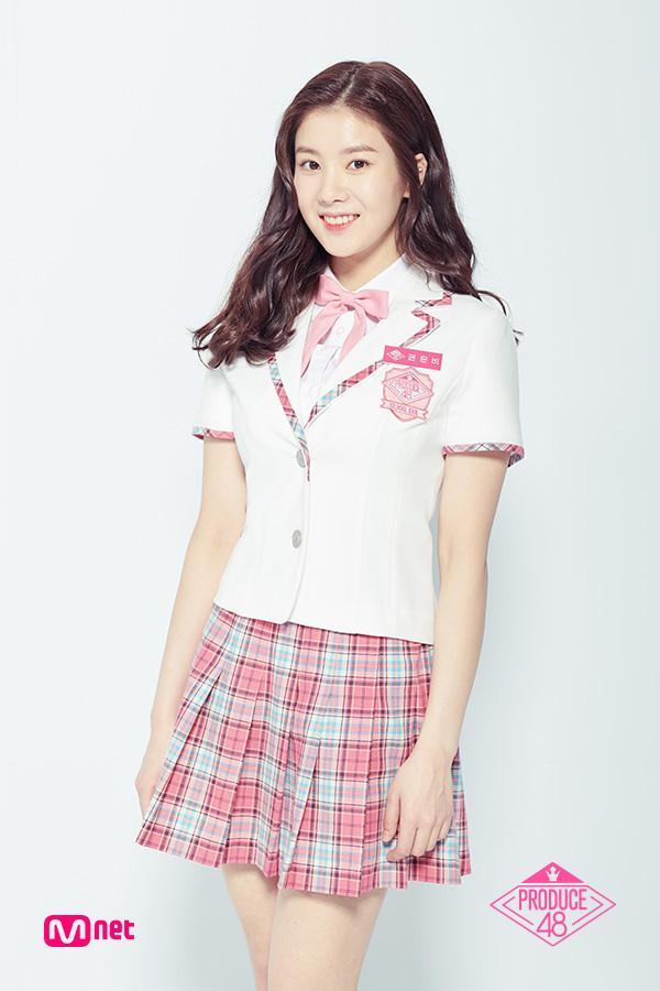 新人女團IZONE隊內大姐外貌神似IRENE,顏值高,身材好?