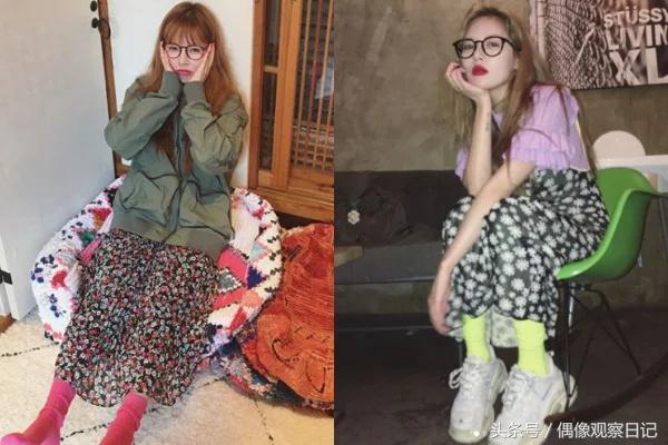 碎花是大媽穿的? 看看韓國女星如何把「碎花」穿出仙氣與潮流感!