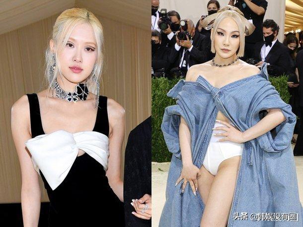 "CL、BLACKPINK朴彩英""MetGala""紅毯造型PK:你愛誰?"