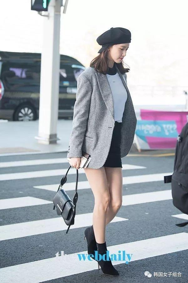 少女時代允兒前往中國台灣,機場時尚猶如拍畫報!