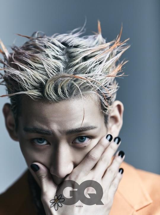 組圖:GOT7成員BamBam登《GQ》 藍色美瞳造型魅惑