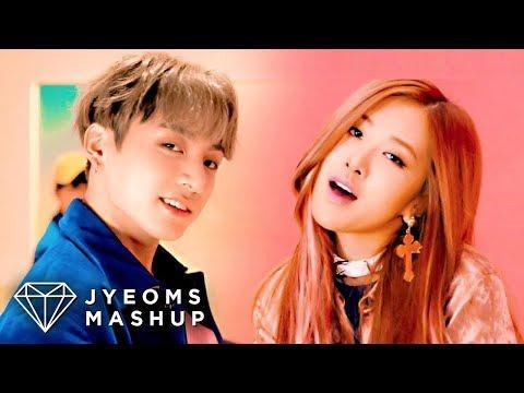 韓網友做防彈少年團和BLACKPINK的歌曲混音,居然超合拍?