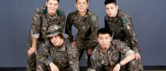 太陽公開「軍BANG」團體照 隊友都是圈中型男