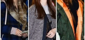 少女時代為到中國舉行fan meeting而從金浦機場出境盡顯機場時尚