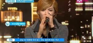 KangNam拿下'似像非像的偶像歌手'《超級偶像排行榜》第一名