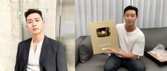 朴敘俊YouTube頻道訂閱人數破百萬 成韓國首位獲金獎牌演員