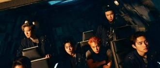 EXO新專登Gaon專輯周排行榜一位!創下第六個百萬銷量紀錄