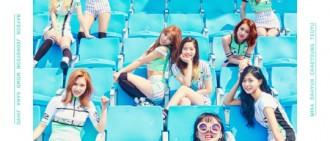 TWICE 「Cheer Up」Mnet月排行榜位列第一 取得好成績