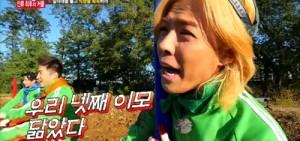 Gary男扮女裝醜翻 撞臉Kangnam姨母