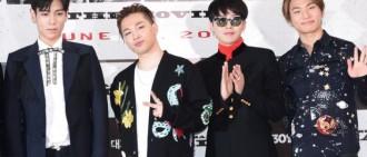 BIGBANG全員與YG完成第三次續約 原定4月美國演出延期至10月