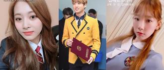 韓網民票選最靚高中校服TOP5 不少偶像的母校都上榜