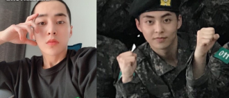 XIUMIN將於12月6日退伍 成第一個完成兵役EXO成員