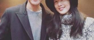 韓善花-張東健親密照 「依然是花美男前輩!」