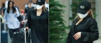 CL身材引熱議!演唱會上霸氣回應,表演結束返回韓國全身緊包