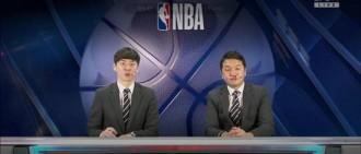 轉播NBA韓主播「鼻血狂流」搭檔嚇歪 網跪了:用生命在播報