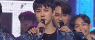EXO結束新輯宣傳活動 蟬聯《人氣歌謠》冠軍