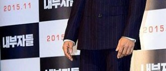 【照片】李秉憲、曹承佑、白潤植宣傳新片《局內人》