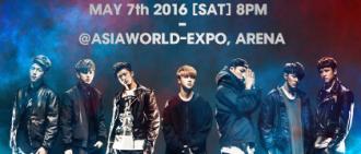 iKON首個香港演唱會強勢舉行!