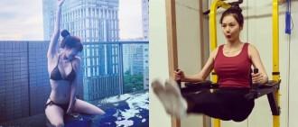好身材得來不易!泫雅IG分享健身片段35秒擡腿20下練出「11字腹肌」