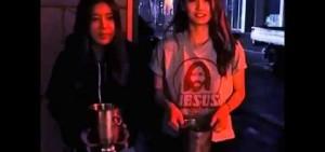 Wonder Girls (譽恩 & 婑斌) 冰桶挑戰