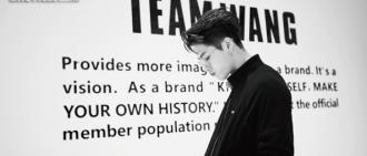 JACKSON進軍時裝界 「TEAM WANG」黑暗簡約風展現品牌成立過程