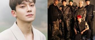 Chen「閃婚又當爸」粉絲氣炸求退團! SM說話了⋯「EXO成員不會變」