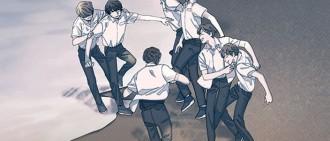防彈「花樣年華」系列出漫畫 懸疑劇情引人追看