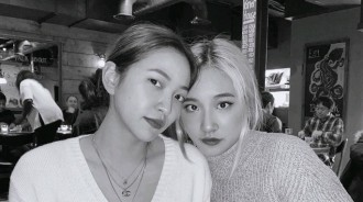 Yeri和SM前練習生Herin見面,大部分韓國網友卻都在指責不戴口罩