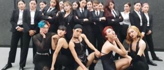 AOA穿西裝翻唱MMO 男伴舞女裝上陣超驚艷