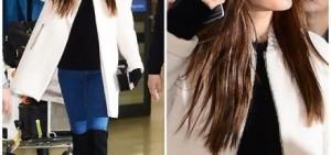 NANA,素顏墨鏡的機場fashion