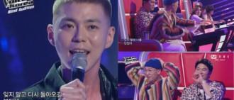 曾是JYP最資深練習生 男歌手出戰《韓國好聲音》4組導師全轉身